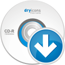 Cd Down - icon gratuit #192399