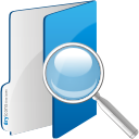 Folder Search - icon gratuit #192409