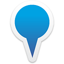 Map Blue - icon gratuit #192779