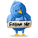 Twitter Follow Me - icon gratuit #193099