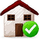 Home Accept - icon #193169 gratis