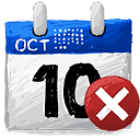 Borrar calendario - icon #193199 gratis