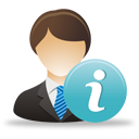 Business User Info - icon gratuit #193269
