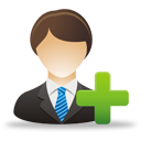 Add Business User - icon #193279 gratis