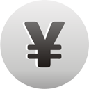 Yen Currency Sign - icon #193589 gratis