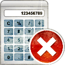 Calculator Remove - Kostenloses icon #193919