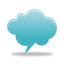 Cloud Comment - icon gratuit #194579