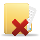 Delete Folder - icon gratuit #194999