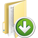 Folder Down - icon #195339 gratis