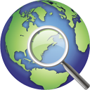 Globe Search - icon gratuit #195379