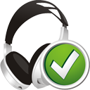 Headphones Accept - icon gratuit #195389