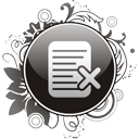 Note Delete - icon gratuit #195889