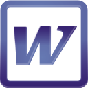 Word - icon gratuit #196279