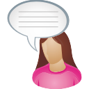 She User Comment - icon #196319 gratis