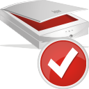 Scanner Accept - icon #196969 gratis