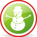 Snowman Rounded - Free icon #197069