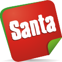 Santa Note - icon gratuit #197099