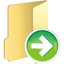 Folder Next - icon gratuit #197659