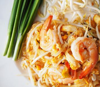 Thai food on a plate - Kostenloses image #197919