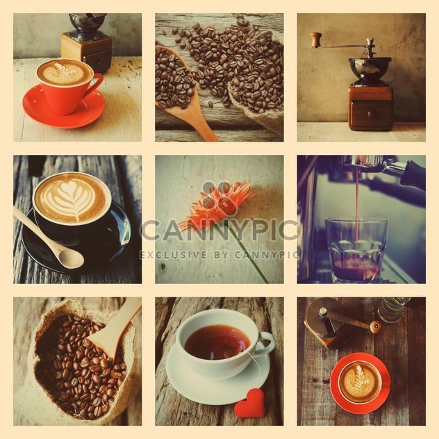 Coffee vintage set - image gratuit #197929