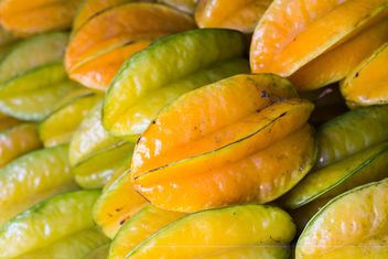 Star fruit on street market - image gratuit #198039