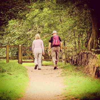 pensioner hiking. - Free image #198229