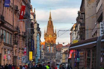 Street in the Czech Republic - Kostenloses image #198619