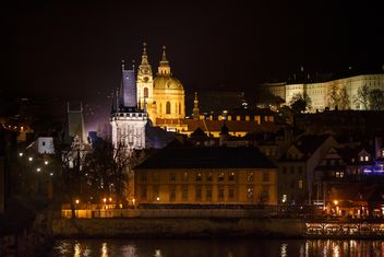 czech republic at night - image gratuit #198649
