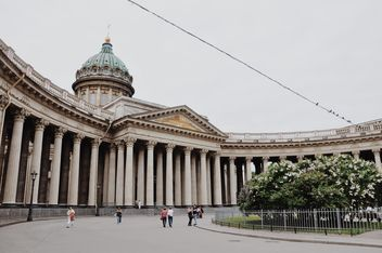 Kazan Cathedral in SaintPetersburg. Beautiful view - бесплатный image #198699