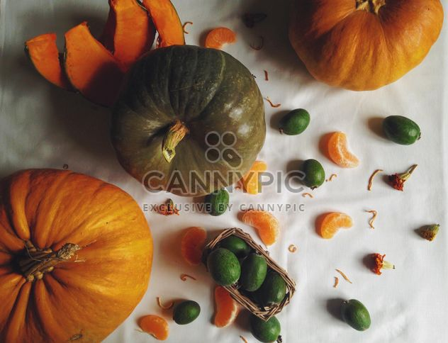 Autumn harvest, Vegetables and fruits - image gratuit #198739