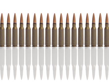 Ammunition isolated on white background - image gratuit #198869