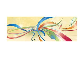 Ribbon Party - Free vector #199059