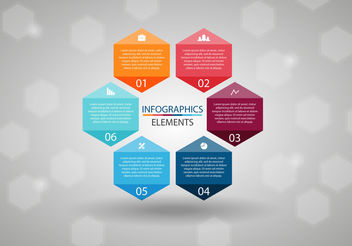 Free Infographics Elements Vector - vector gratuit #199169