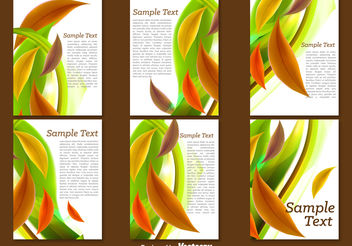 Leaves leaflets - Free vector #199269