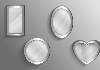 Mirrors Set Vectors - vector #199489 gratis