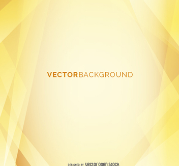 Abstract Yellow background - vector #199649 gratis