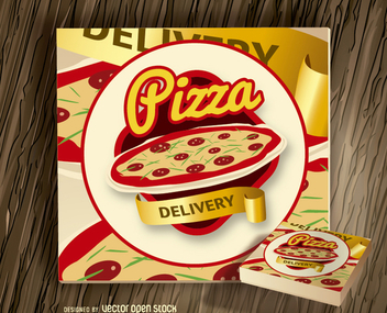 Pizza logo - vector gratuit #199749