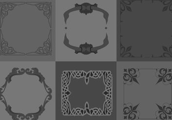 Free Gothic Borders - Free vector #200459