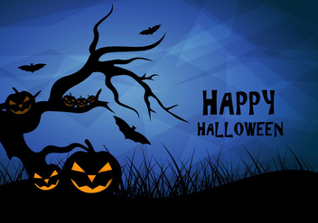 Happy halloween vector design - Free vector #200629