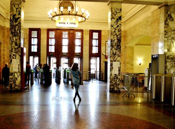 Interior of Moscow subway station - Free image #200719
