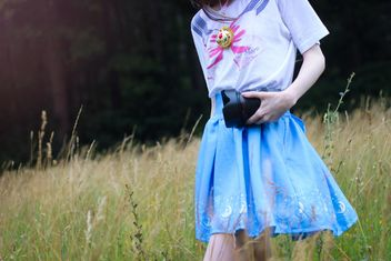 Girl in sailor moon t-shirt - бесплатный image #200779