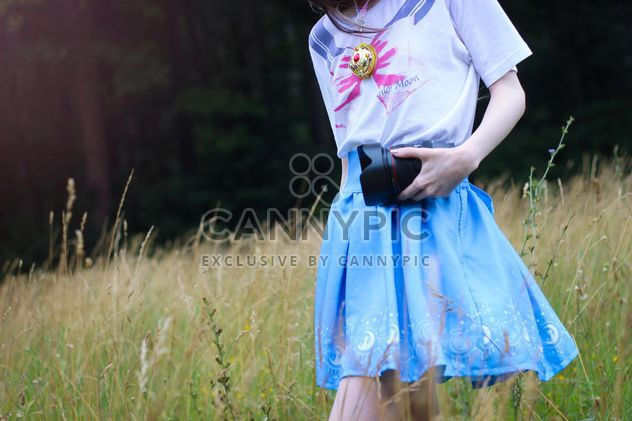Girl in sailor moon t-shirt - Kostenloses image #200779