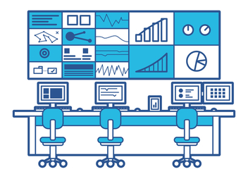Free Command Center Illustration - Free vector #200899