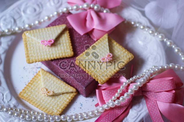 Cookies With A colorful Bows - бесплатный image #201009