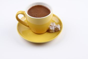 Cup of Turkish Coffee and Turkish Delights - image gratuit #201099