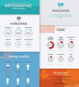 Free Infographic Vector Templates - vector #201879 gratis