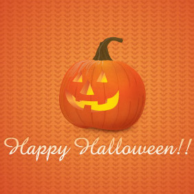 Halloween Pumpkin Vector - бесплатный vector #202159