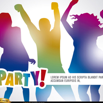 Free Vector Party Background - Free vector #202209