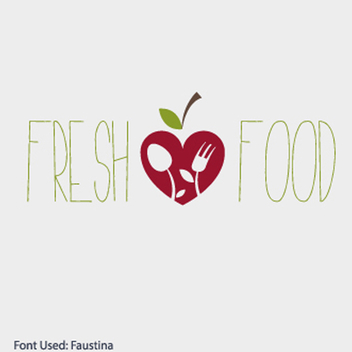 Eco Food Logo Vector - бесплатный vector #202269