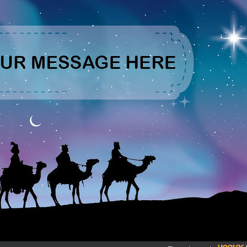 Free Vector Three Wise Men - Kostenloses vector #202309